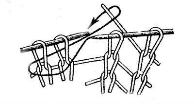 Узоры для вязания круглой салфетки