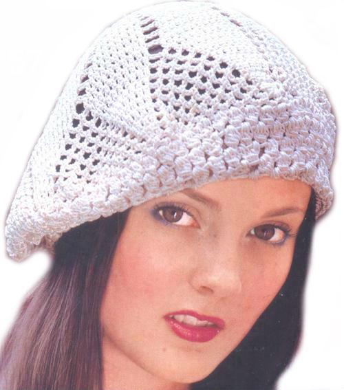 вязание берета крючком, Вязаные шапки