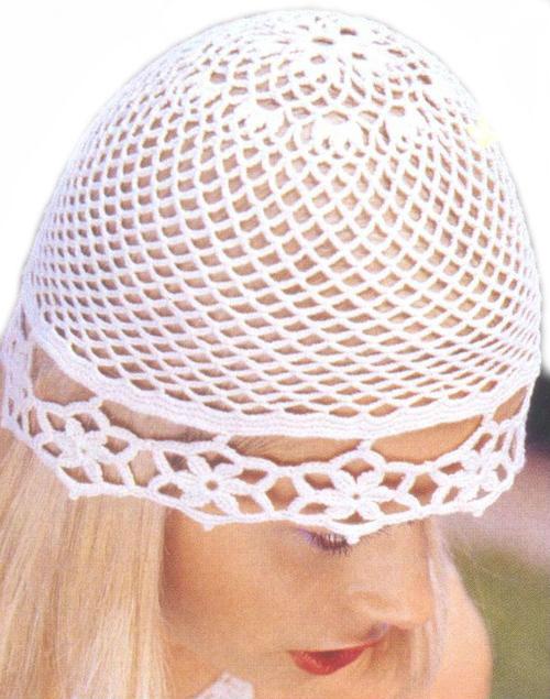 Вязание шапок крючком: